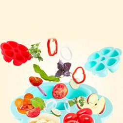 Baby Food Container Silicone Flower Lattice Fruit Breast Veg