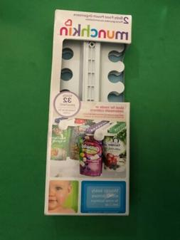 Munchkin Baby Food Pouch Organizers Set of 2 organizers hold