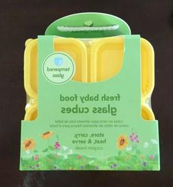 BRAND NEW Green Sprouts Fresh Baby Food Glass Cubes