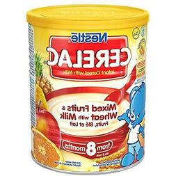 """Cerelac Mixed Fruits """" Wheat W/ Milk  - 400g Grocery Gourmet"""