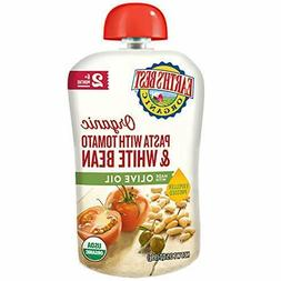 Earth's Best Organic Stage 2 Baby Food, Pasta with Tomato/Wh