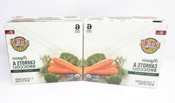 Earth's Best Organic Stage 2 Baby Food, Carrots and Broccoli