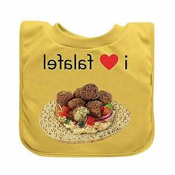 green sprouts Favorite Food Absorbent Baby Bib, Yellow Falaf