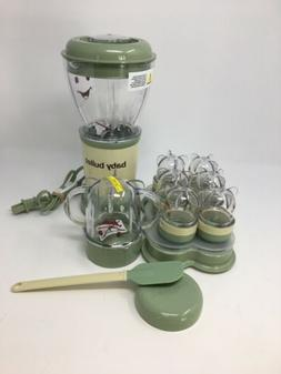 food blender processor system green opened box
