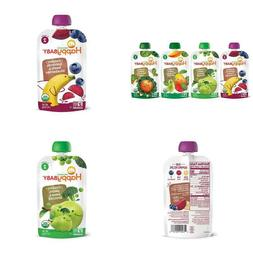 Happy Baby Organic Stage 2 Baby Food Simple Combos Variety P