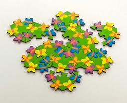 HABA Itty Bitty Butterflies - A Challenging Wooden Puzzle fo