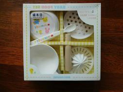 Japan MIKI HOUSE Baby Food Feeding Set - NEW! Toddler Dishes