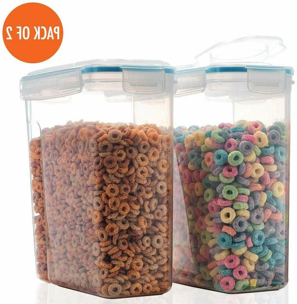 2 Cereal and Dry Storage with Airtight