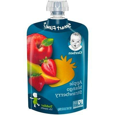 2nd foods fruit squeezable puree