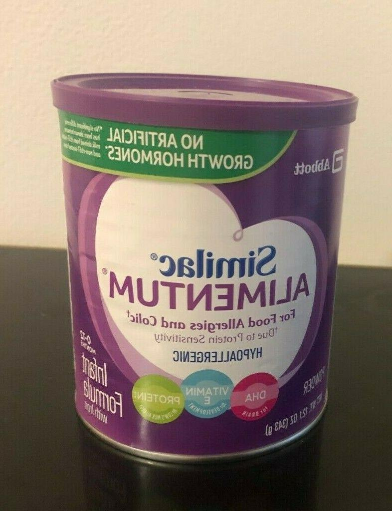 alimentum for food allergies and colic 12