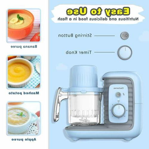 8 in Baby Cooking Healthy Food