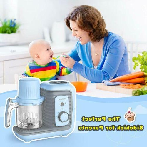 8 in Baby Cooking Organic Healthy Food