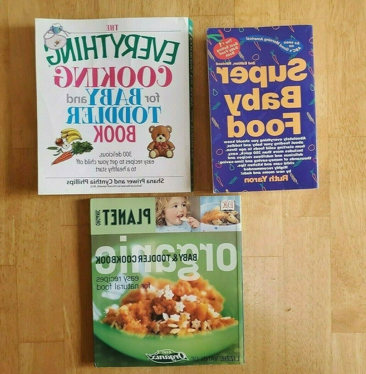 cooking for baby and toddler book organic