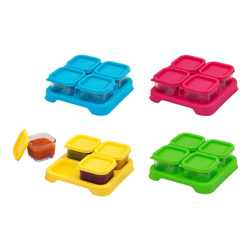 green sprouts Food Glass Cubes   Store, carry,