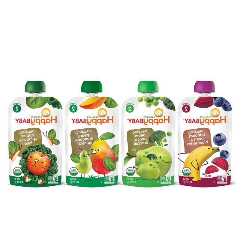 Happy Baby 2 Baby Food Simple Combos Ounce Pouch