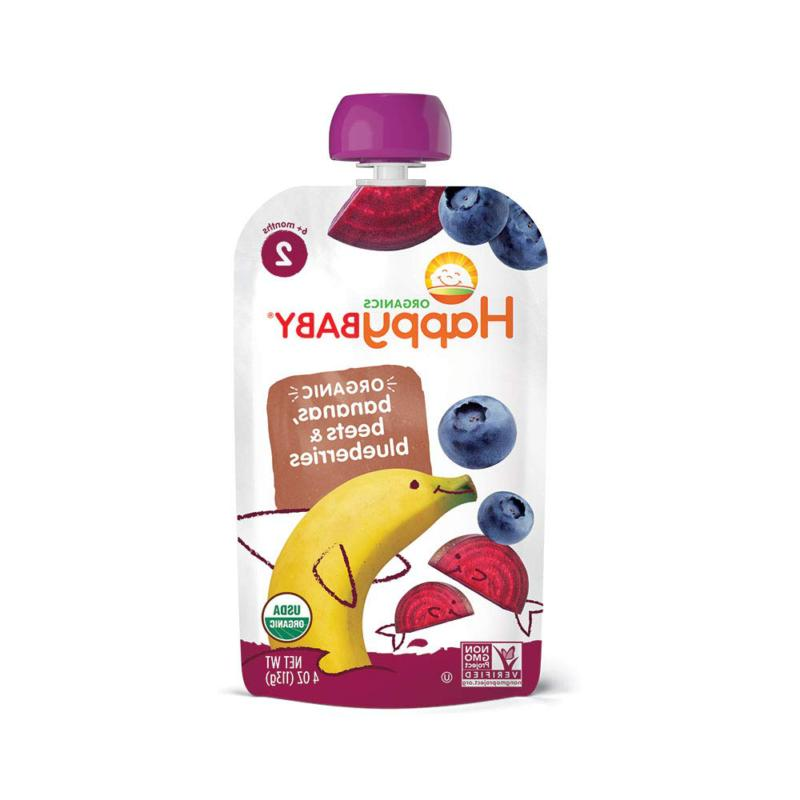 Happy Organic Stage 2 Baby Combos Ounce Pouch (
