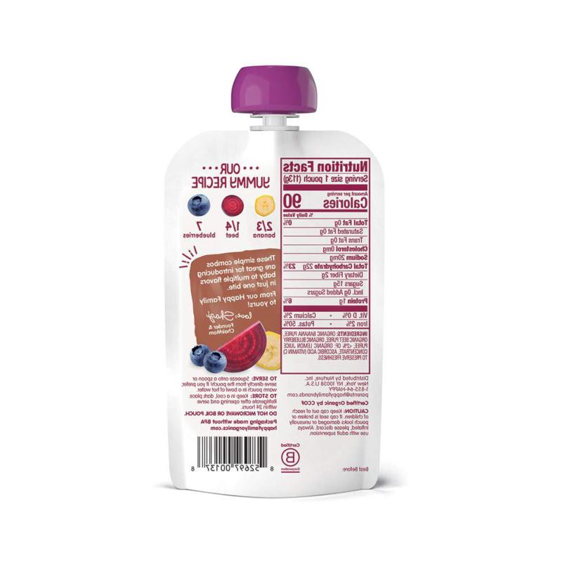 2 Baby Food Combos Ounce Pouch (