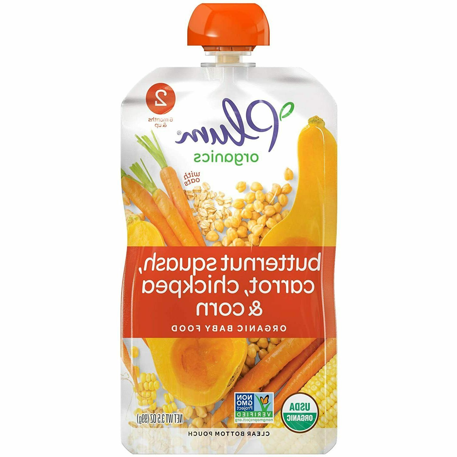 new stage 2 baby food pouch 3ct