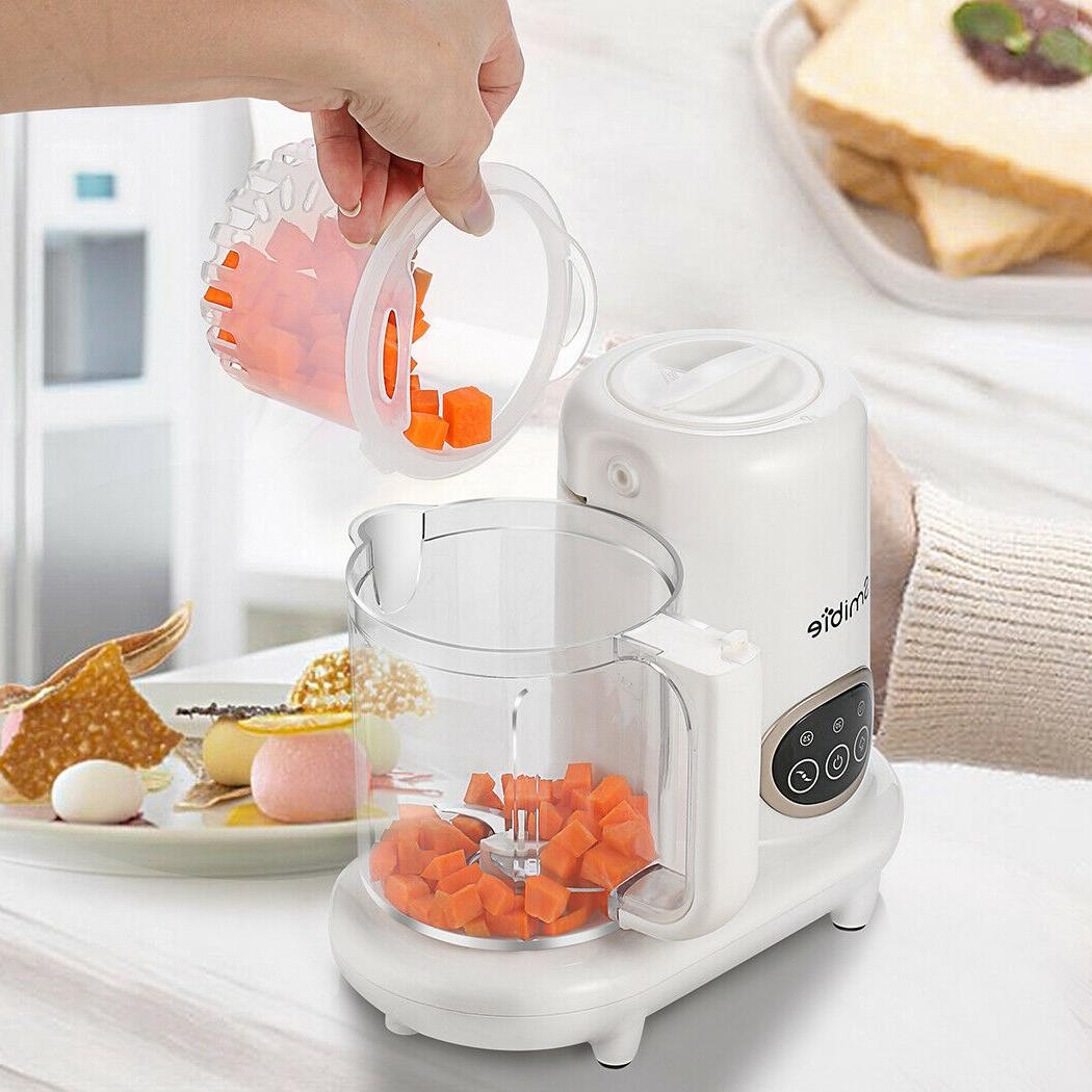 newest baby feeding machine cooking and stirring