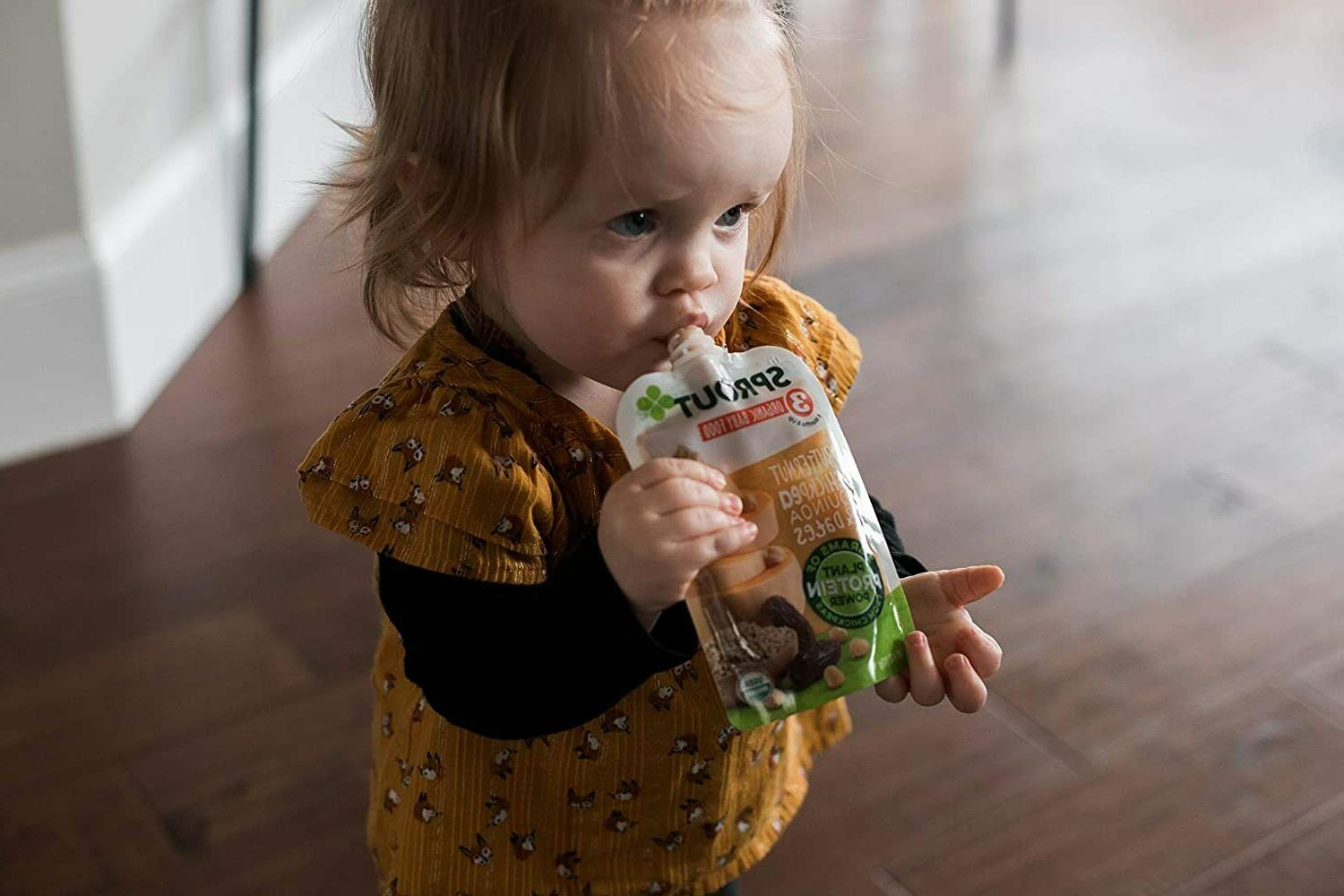 Sprout Baby Food Stage Quinoa & Dates oz pouches