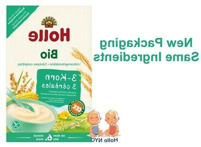 organic porridge cereal 3 grain