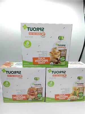 organic stage 3 baby food pouches variety