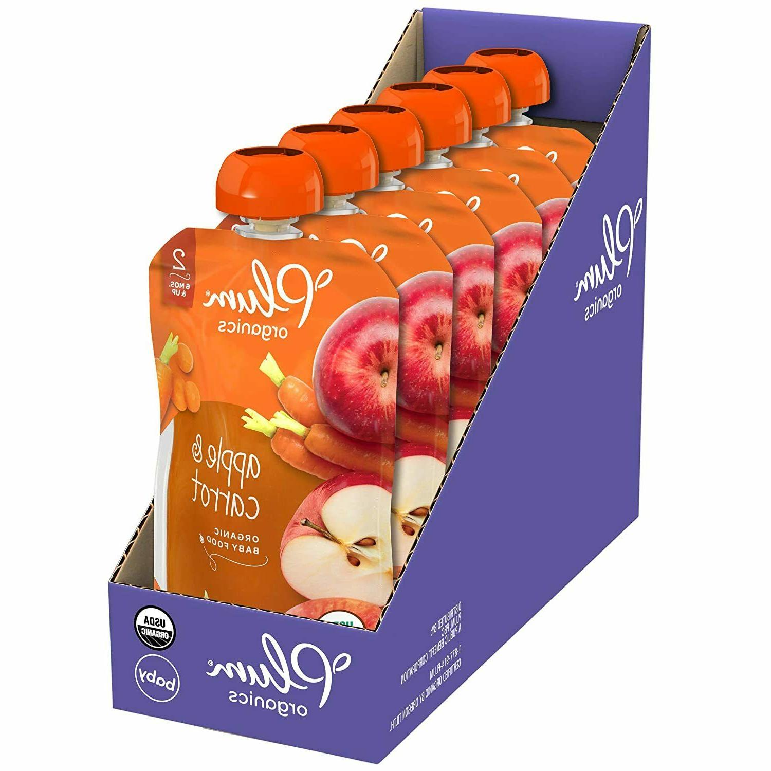 Plum Organic Fruit and Pack