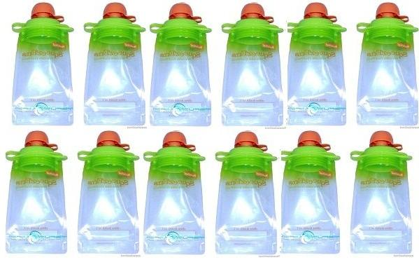 40-Pack Refillable Baby Food Pouch great for snacks and Drin