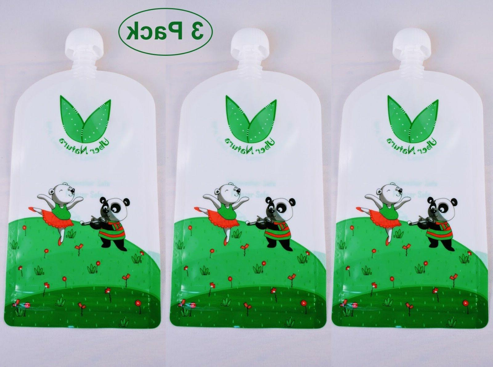 reusable food pouches baby food pouches