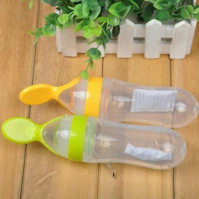 Silicone Feeding Bottle With Food Cup