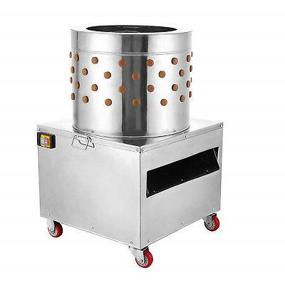 Stainless Steel Plucker Machine Poultry De-Feather