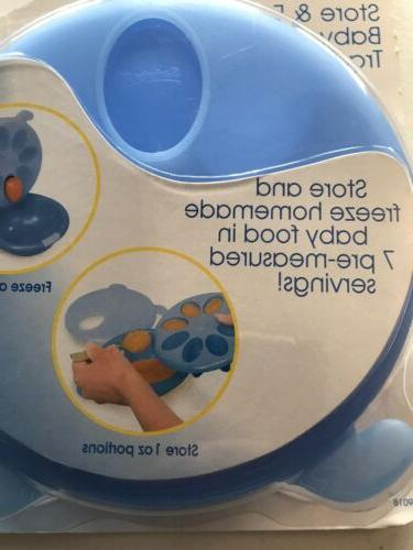 Safety 1st Freeze Baby Food Tray 7 Pre-measured New