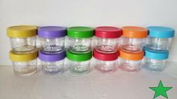 WEESPROUT Leakproof Baby Food Storage containers Set of 12 -