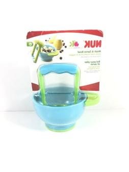 NUK Mash and Serve Bowl for Making Homemade Baby Food Pack o