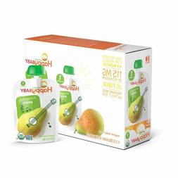 Happy Baby Organic Stage 1 Baby Food, Starting Solids, Pears