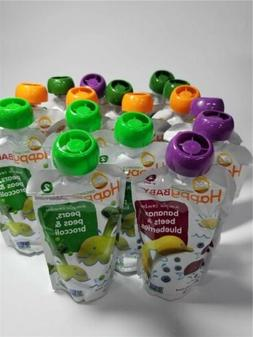 Happy Baby Organic Stage 2 Baby 4 Oz. Variety Pack 16 pack
