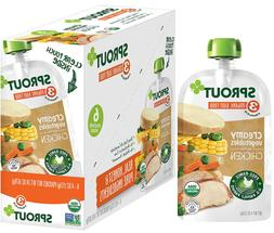 Sprout Organic Stage 3 Baby Food Pouches, Creamy Vegetables