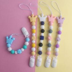 Safety Baby products silicone pacifier chain Food grade sili