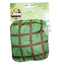 Green Sprouts Green Shopping Cart High Chair Cover Baby Wate