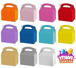 Solid Colour Birthday Wedding Food Favour Gift Party Bag Loo
