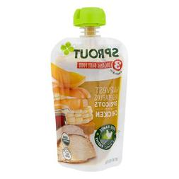 Sprout Stage 3 Textured Organic Baby Food Pouches with Meat